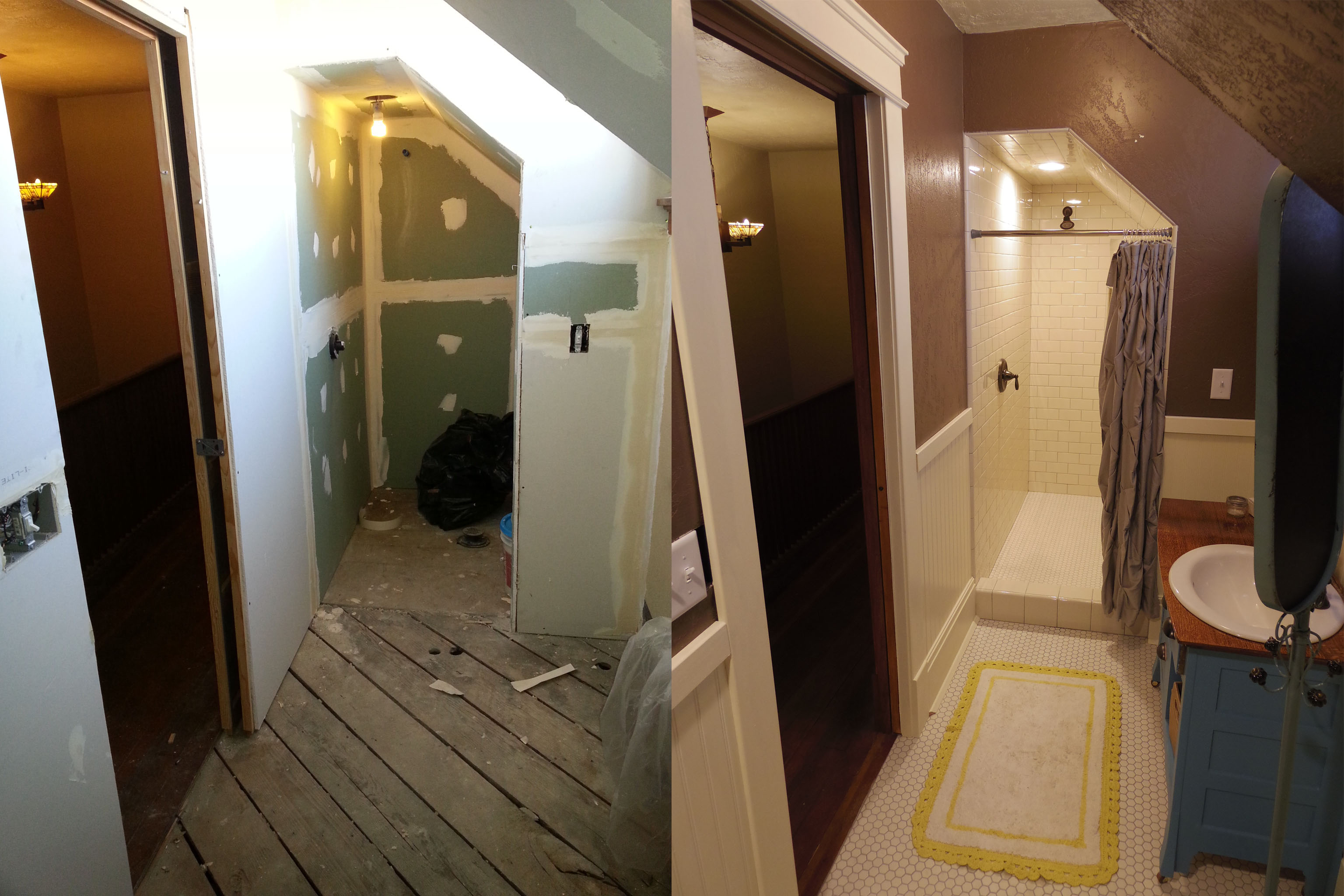 craftsman bathroom before and after 5 - Craftsman Bathroom 2016