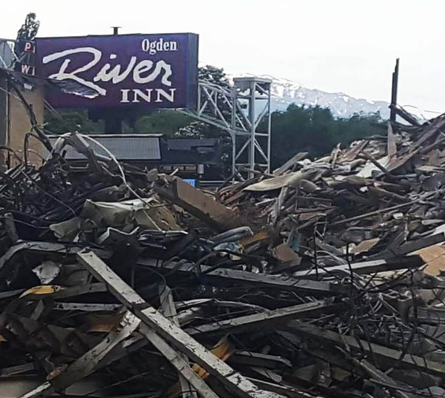 DEMOLITION DAY: Ogden River Inn Razed for Redevelopment