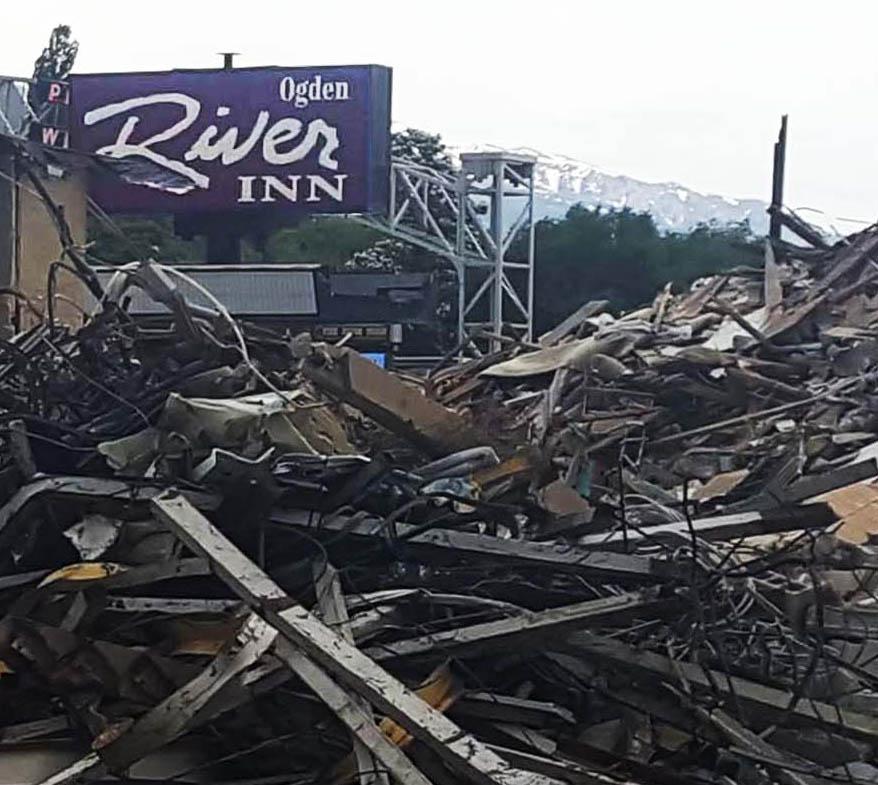 DEMOLITION DAY: Ogden River Inn Razed for Redevelopment