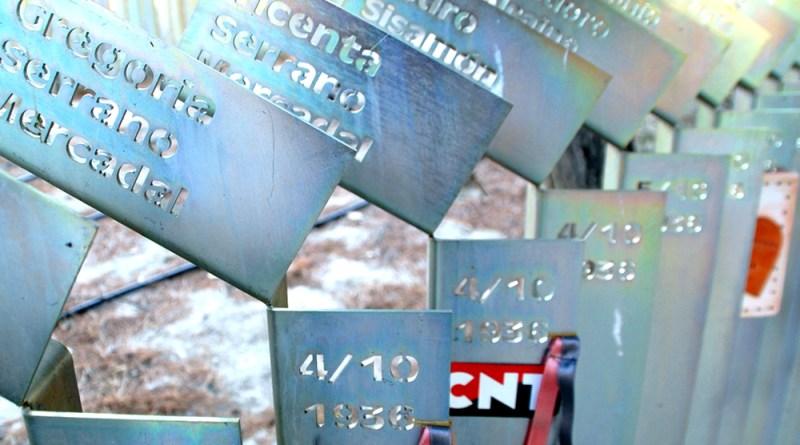 Monumento a las víctimas de la represión franquista