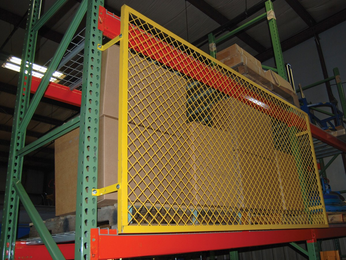 pallet rack back guards product page