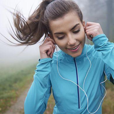 ascoltare la musica mentre si corre