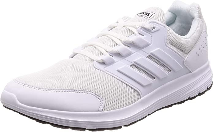 adidas Galaxy 4, Scarpe da Running da Uomo bianche
