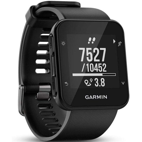 Orologio running GPS, Garmin Forerunner 35, Nero