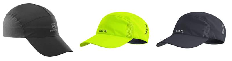 Acquista su Amazon migliori cappellini con visiera running per correre con la pioggia