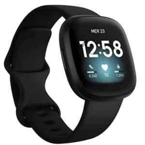 offerta Amazon FITBIT VERSA 3 SMARTWATCH CON GPS INTEGRATO