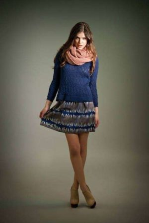 minigonna in inverno