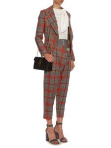 burberry tartan suit