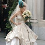 carrie bradshaw vestito sposa