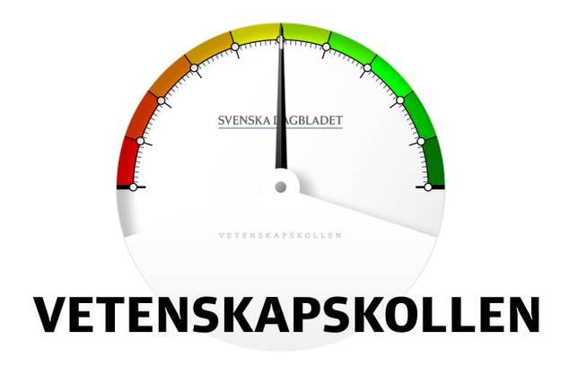 Vetenskapskollen (logo). Källa: svd.se