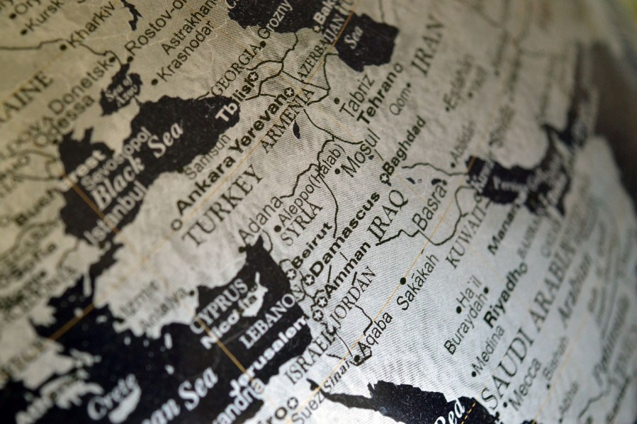 Syrien och geopolitik. Foto: Erika Wittlieb. Licens: Pixabay.com (free use)