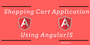 Shopping Cart Application AngularJS