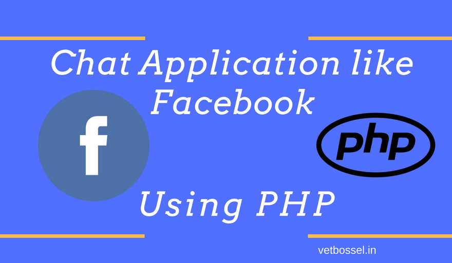 Chat Application like Facebook using PHP