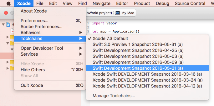 Build iOS Mobile Application in Windows with Swift
