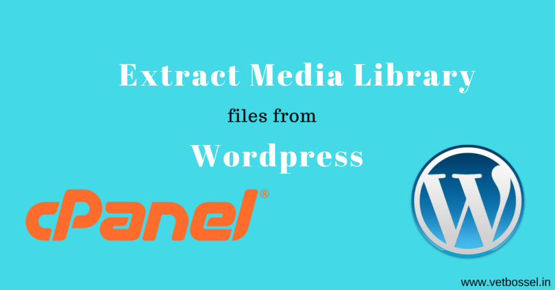 Extract Media Library files from Wordpresa