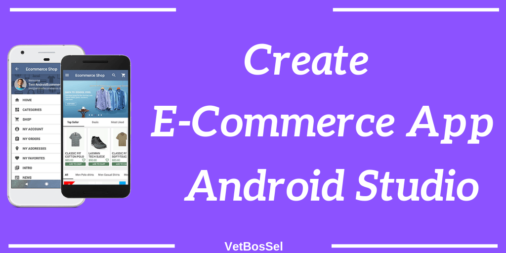 Create Ecommerce Android Application