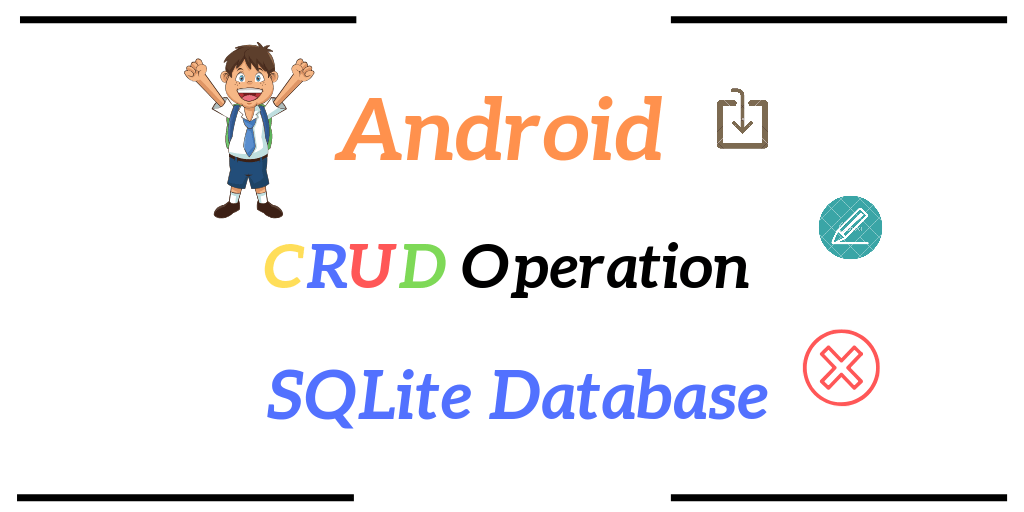 Android CRUD operation sqlite database
