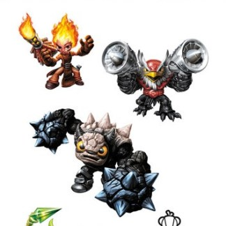Skylanders Shimmer Sticker Trap Team Pack VCSKP0107
