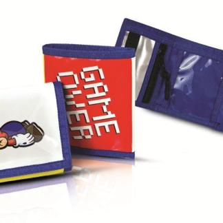 Super Mario Teen 3 Flaps Wallet