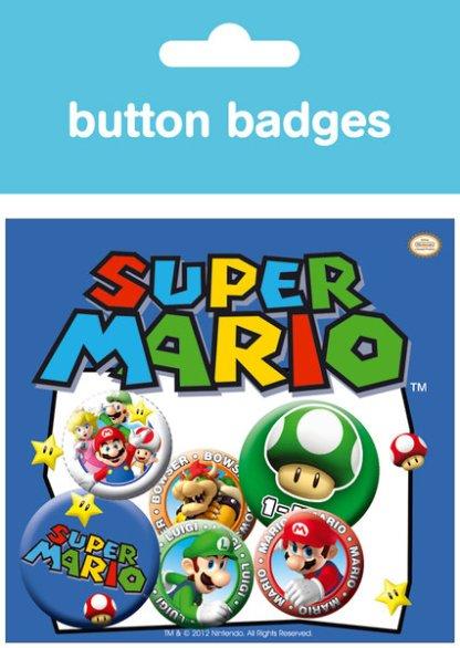 Super Mario Brosjes 6 Pack
