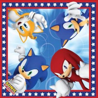 Sonic Servetten 16 stuks per verpakking