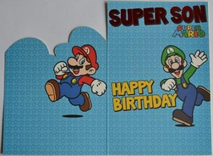 Super Son Verjaardagskaart
