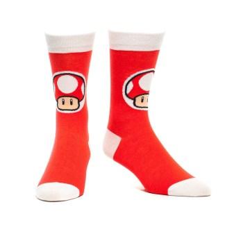 Crew Mushroom Sokken Red