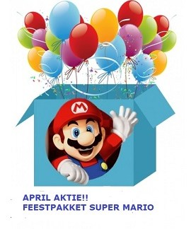 Super Mario Feest Pakket