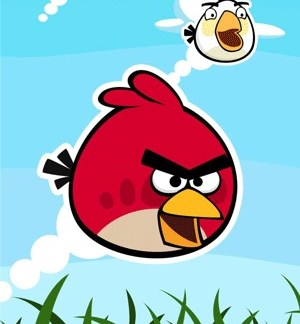 Angry Birds Badhanddoek 70 x 140cm