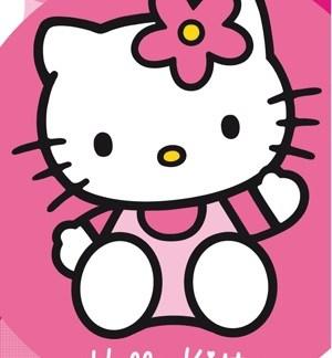 Hello Kitty Badhanddoek