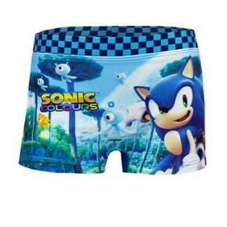 Sonic Zwemboxer Blauw Maat 3 jaar