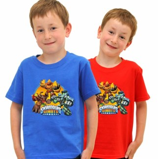 Skylanders Giants T-Shirts Limited Edition Blauw 9/11 Jaar