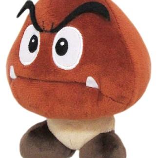 """Mario Bros U Plush """" Goomba"""" 15cm NIEUW!!"""