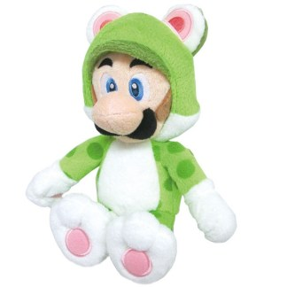 Luigi Kat Knuffel 25cm