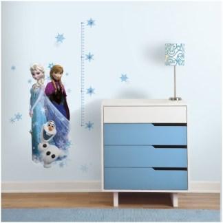 """Disney Frozen """"Groei Grafiek"""" Muursticker"""