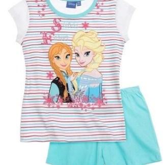 Disney Frozen Shortama Sisters Forever lichtblauw maat 128