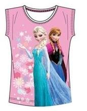 """Disney Frozen T-shirt """"Elsa en Anne Roze"""" 4 jaar"""