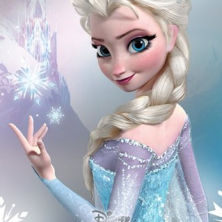 Frozen Metallic Foil Elsa Poster 47 x 67cm