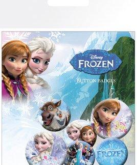 """Disney Frozen Brosjes """"6 pack"""""""