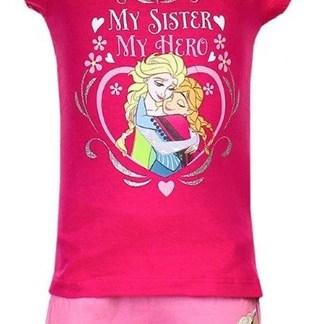 """Disney Frozen Shortama My Sister My Hero """" 6 jaar"""""""