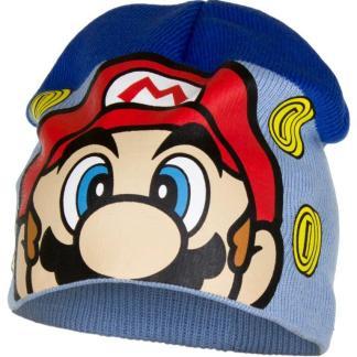 "Super Mario Muts ""Lichtblauw"" maat 52"
