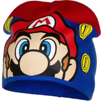 "Super Mario Muts ""blauw-rood"" maat 54"
