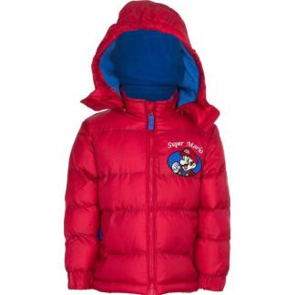 "Super Mario Winterjas ""rood"" 8 Jr."