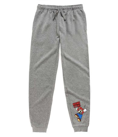 Super Mario Joggingbroek grijs 4 jr.