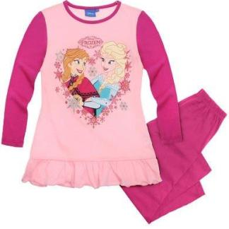 "Disney Frozen Pyjama "" Together Heart"" Ruches maat 104"