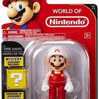 "World of Nintendo Serie 3 Action Figure ""Fire Mario"" 10cm"