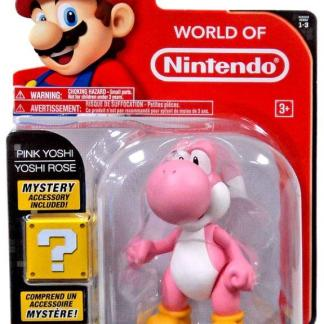 "World of Nintendo Serie 3 Action Figure ""Pink Yoshi 10cm with Egg"""