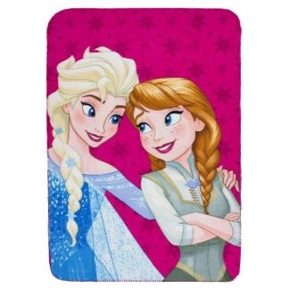 "Disney Frozen Fleecedeken "" Friends"" Roze 100 x 140cm"
