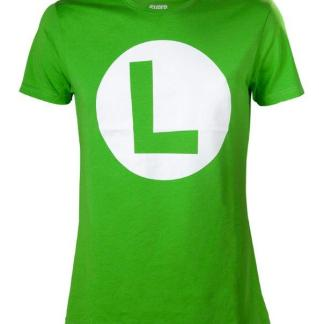 "Luigi T-Shirt With Big L ""maat L"""