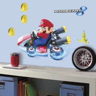 "Mario Kart 8 ""Big"" Wanddecoratie Muursticker"